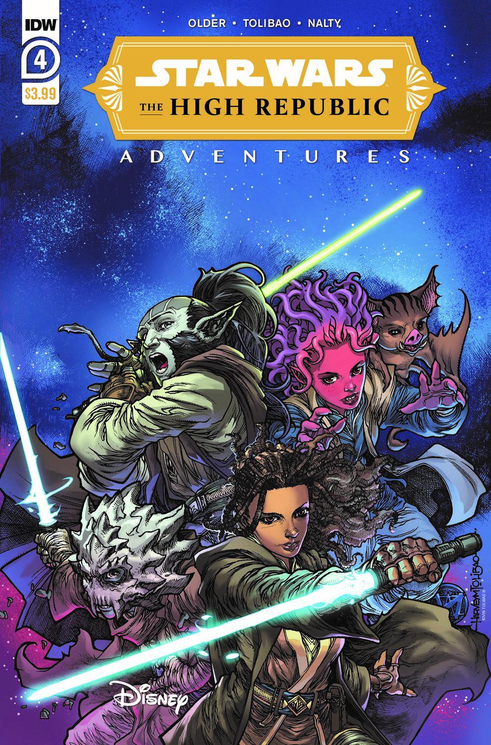 StarWarsHighRepublic-04-A ComicList Previews: STAR WARS THE HIGH REPUBLIC ADVENTURES #4