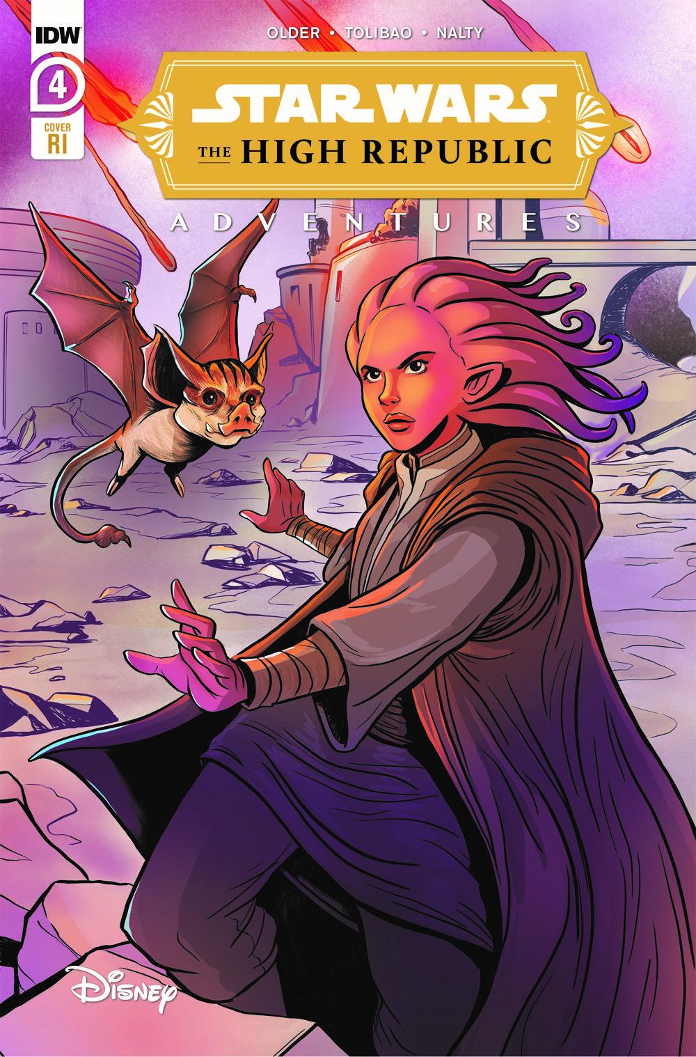 StarWarsHighRepublic-04-RI ComicList: IDW Publishing New Releases for 05/05/2021
