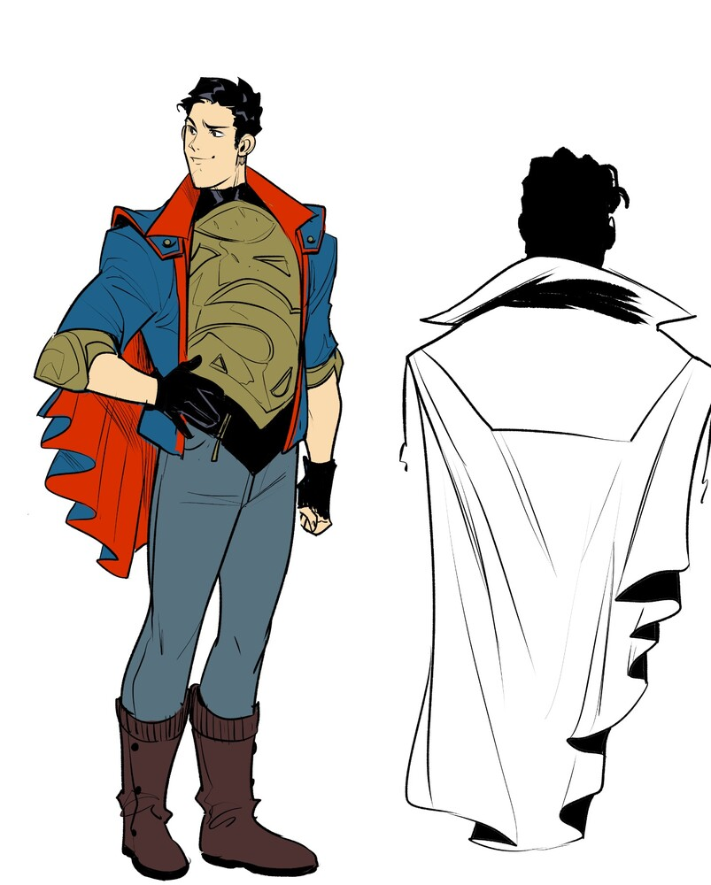 Superman_6001cb75766cb5.05574983 The Justice League and RWBY unite in new series