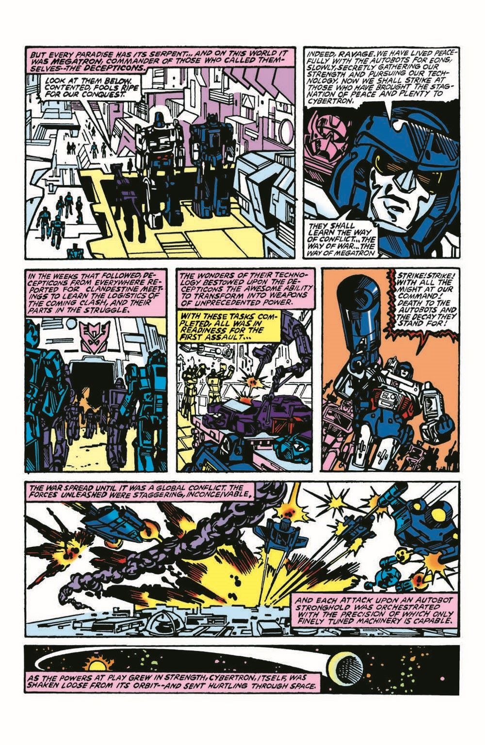 TF84-100PgGiant-pr-4 ComicList Previews: TRANSFORMERS '84 LEGENDS AND RUMORS 100-PAGE GIANT #1