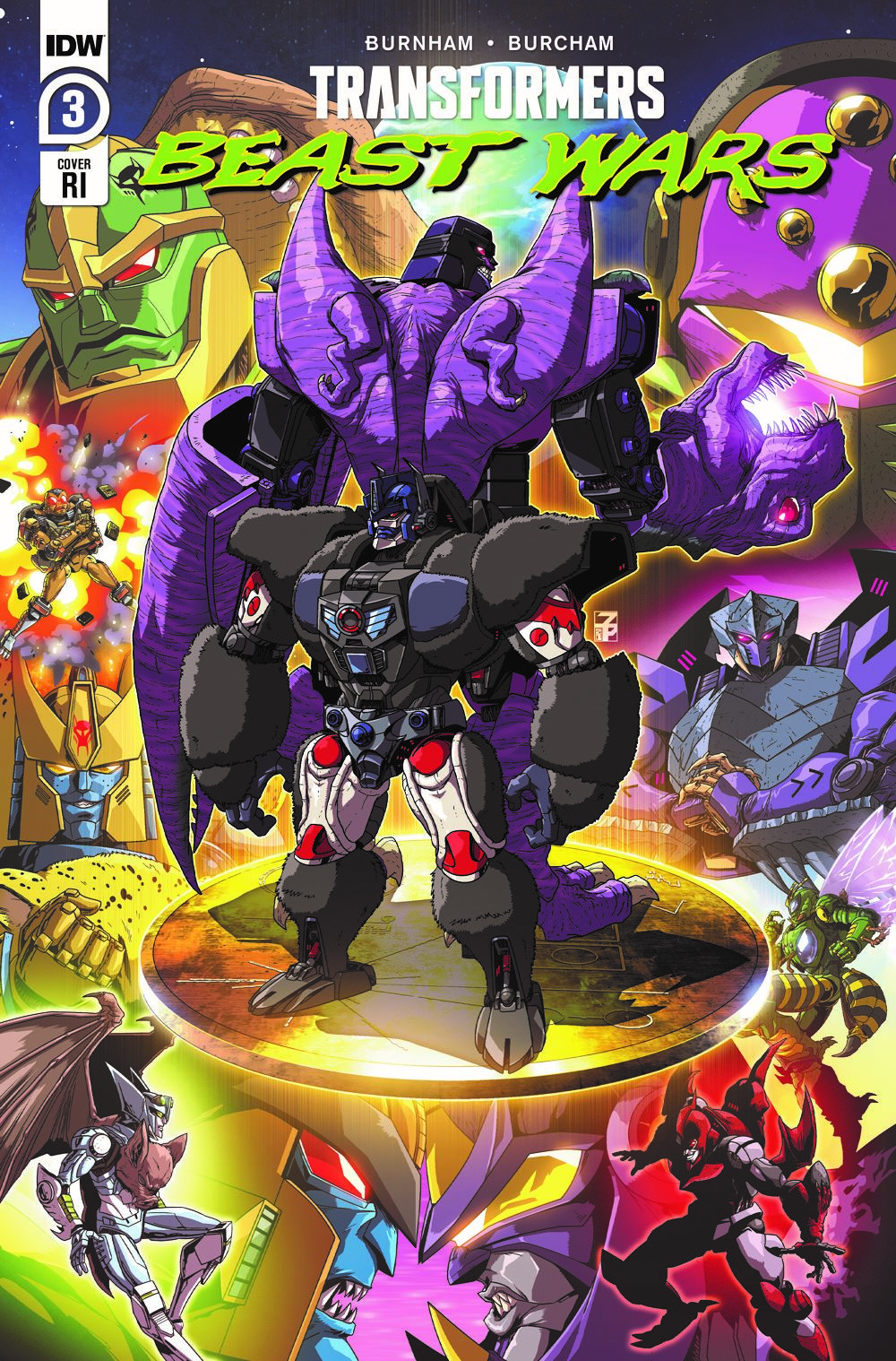 TFBW3-Cover-RI ComicList: IDW Publishing New Releases for 04/07/2021