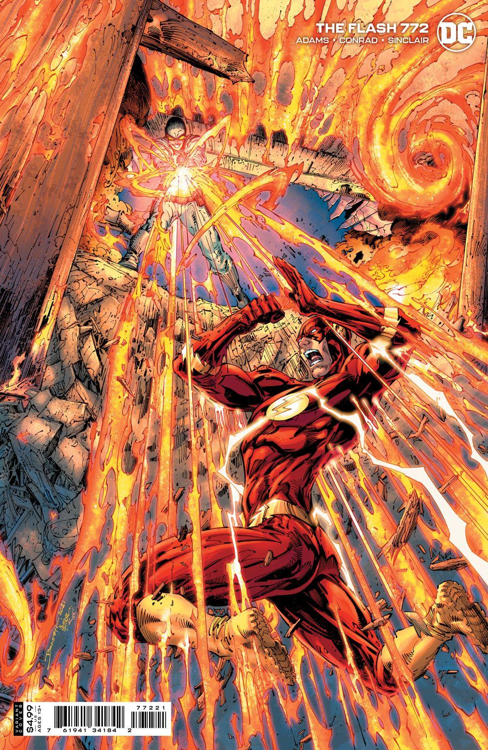 THEFLASH_Cv772_var DC Comics July 2021 Solicitations