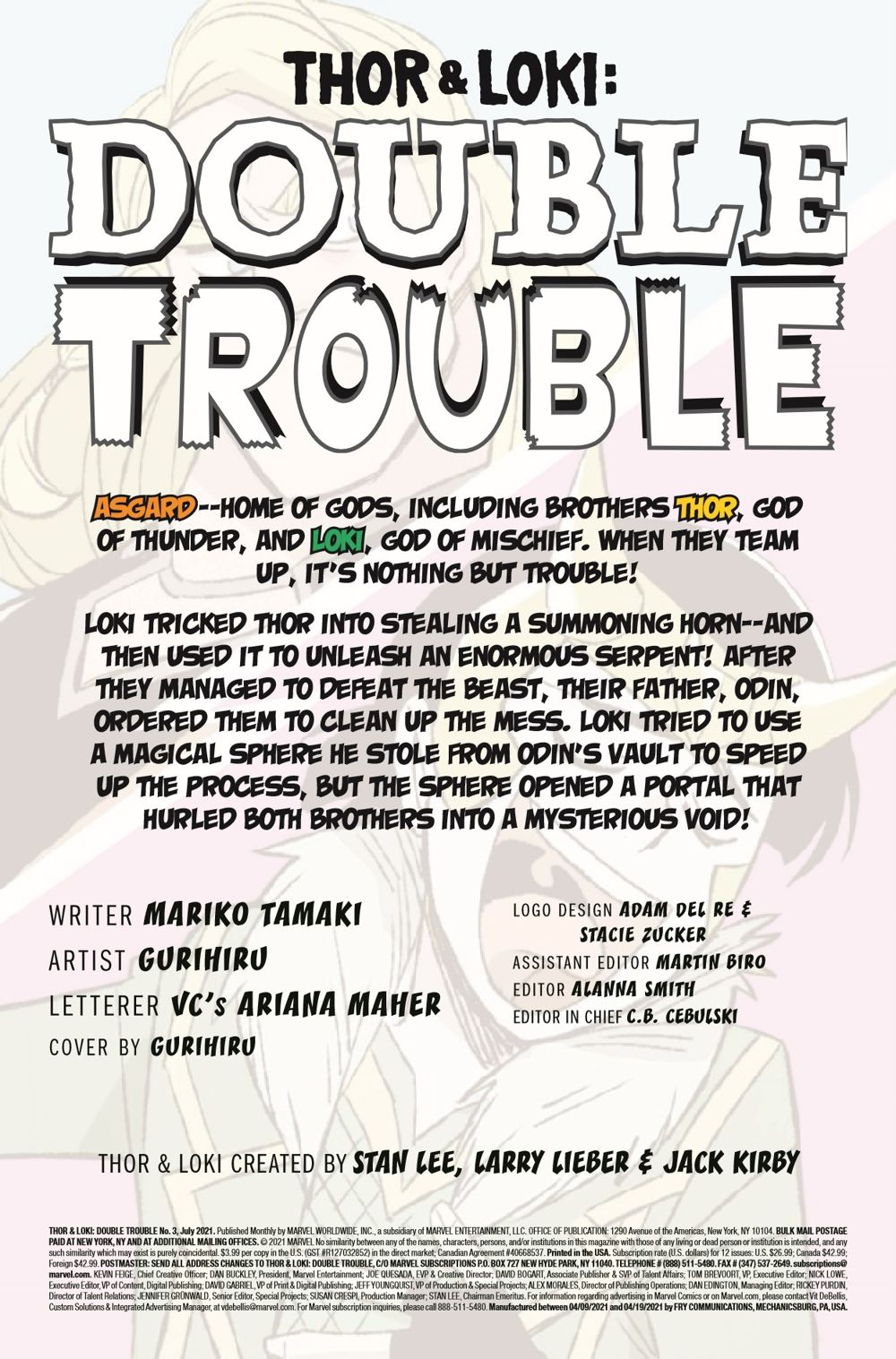 THORLOKIDT2021003_Preview-2 ComicList Previews: THOR AND LOKI DOUBLE TROUBLE #3 (OF 4)