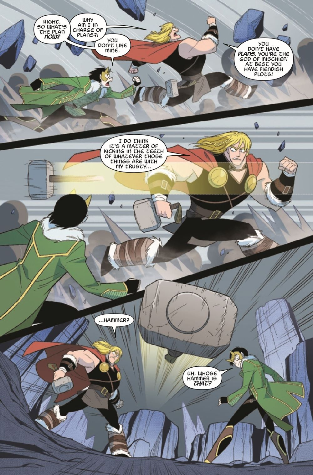 THORLOKIDT2021003_Preview-4 ComicList Previews: THOR AND LOKI DOUBLE TROUBLE #3 (OF 4)
