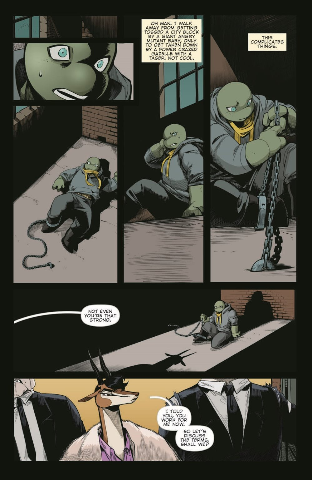 TMNT-JennikaII_06_pr-4 ComicList Previews: TEENAGE MUTANT NINJA TURTLES JENNIKA II #6 (OF 6)