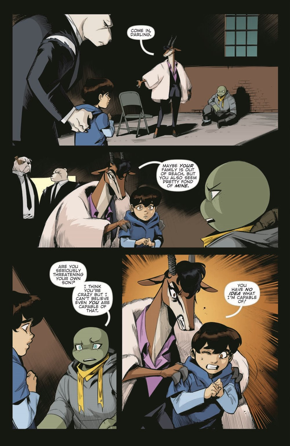 TMNT-JennikaII_06_pr-7 ComicList Previews: TEENAGE MUTANT NINJA TURTLES JENNIKA II #6 (OF 6)