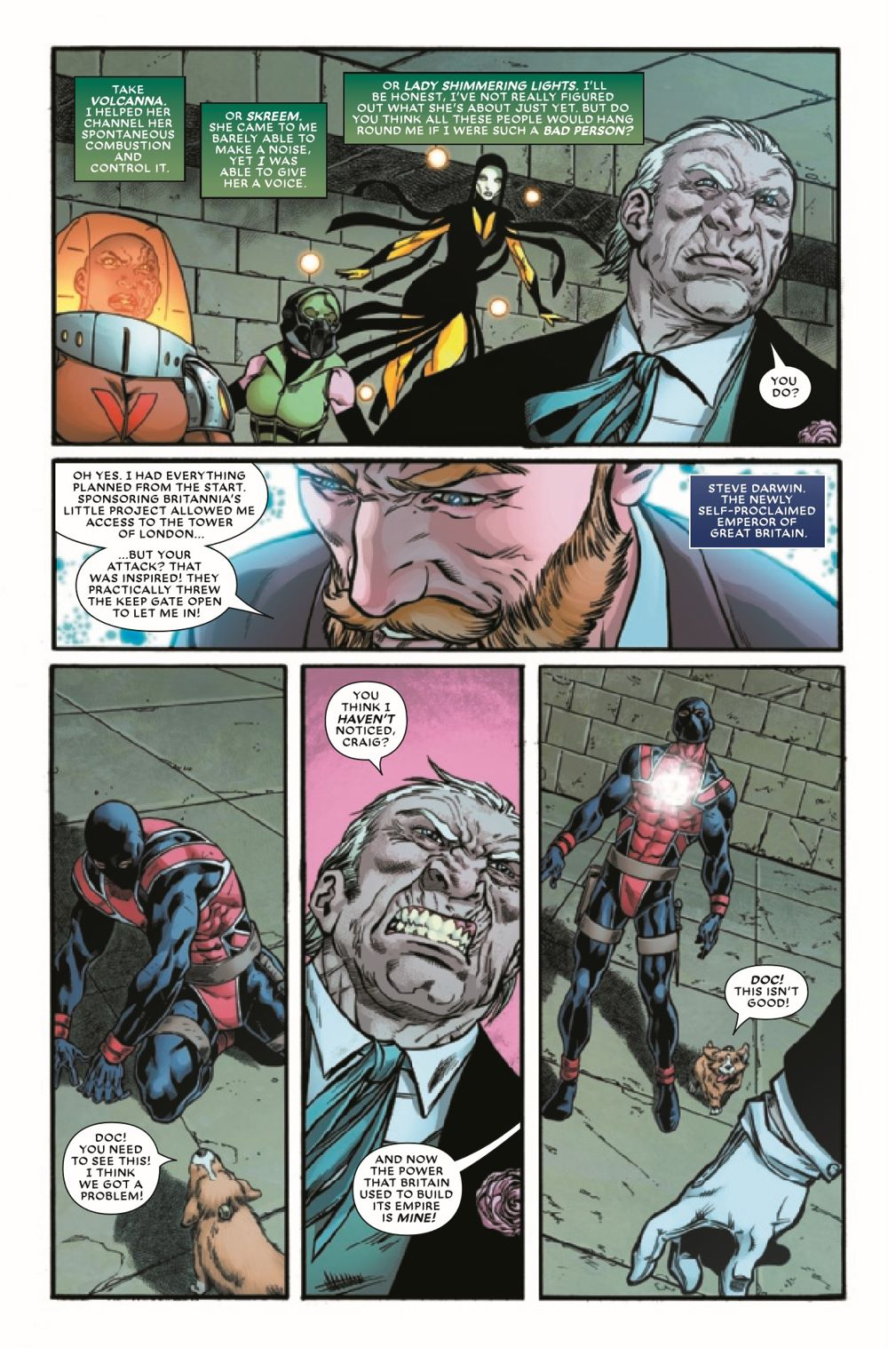 UNION2020005_Preview-4 ComicList Previews: THE UNION #5 (OF 5)