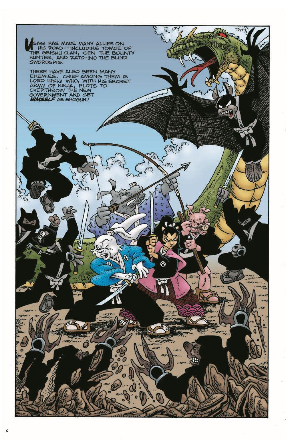 Usagi-Origins-v01-pr-5 ComicList Previews: USAGI YOJIMBO ORIGINS VOLUME 1 SAMURAI TP
