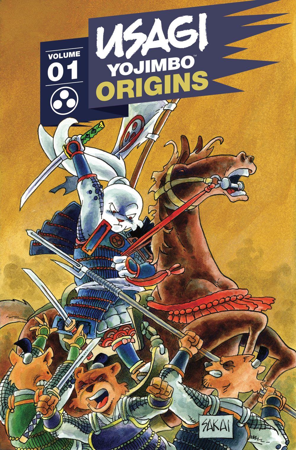 Usagi-Origins-v01_cvr ComicList Previews: USAGI YOJIMBO ORIGINS VOLUME 1 SAMURAI TP