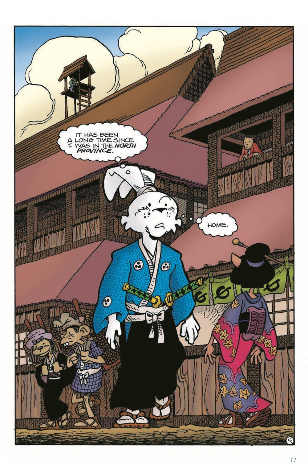 Usagi-v02_pr-7 ComicList Previews: USAGI YOJIMBO VOLUME 2 HOMECOMING TP