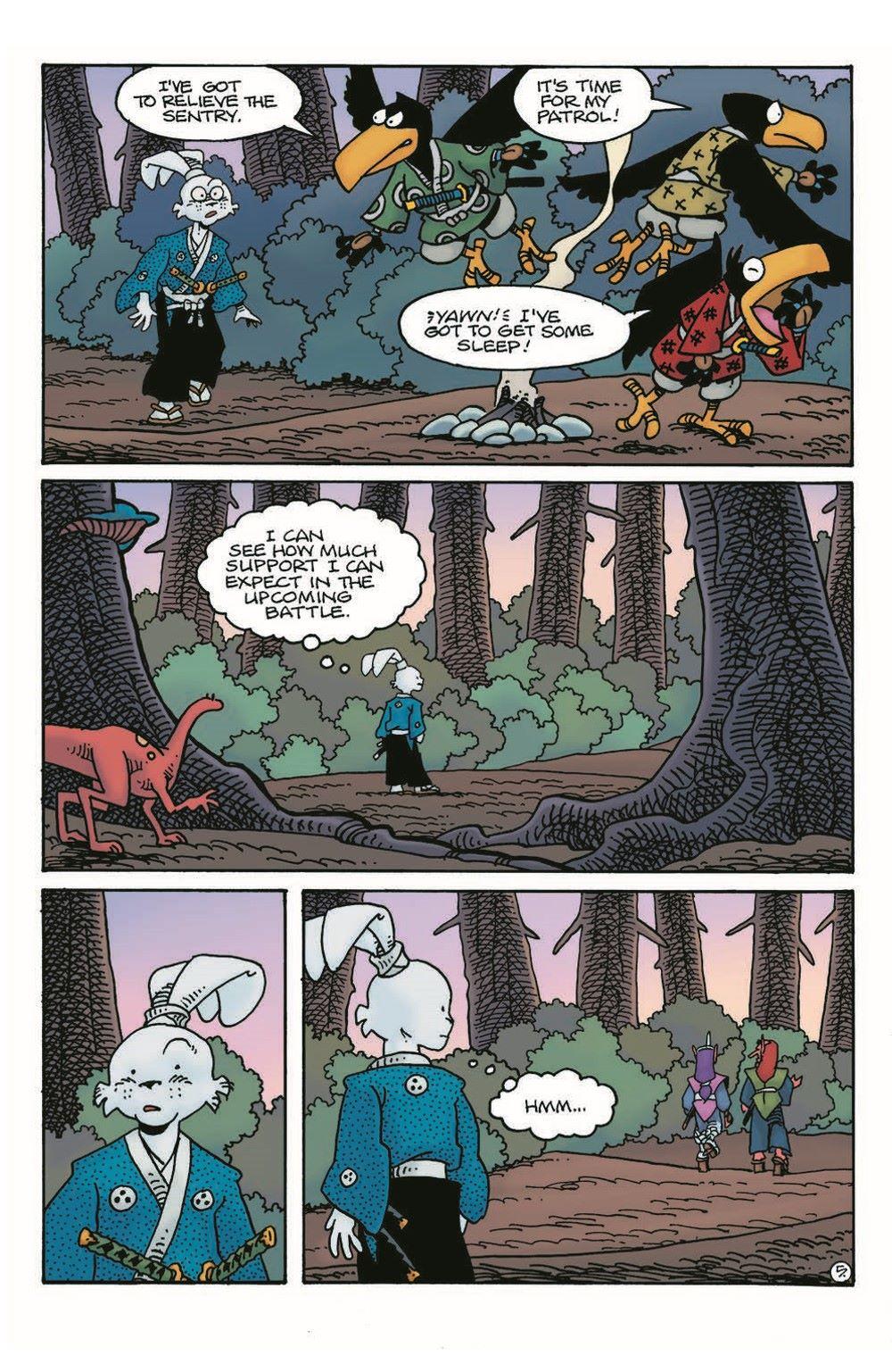 Usagi18_pr-7 ComicList Previews: USAGI YOJIMBO #18