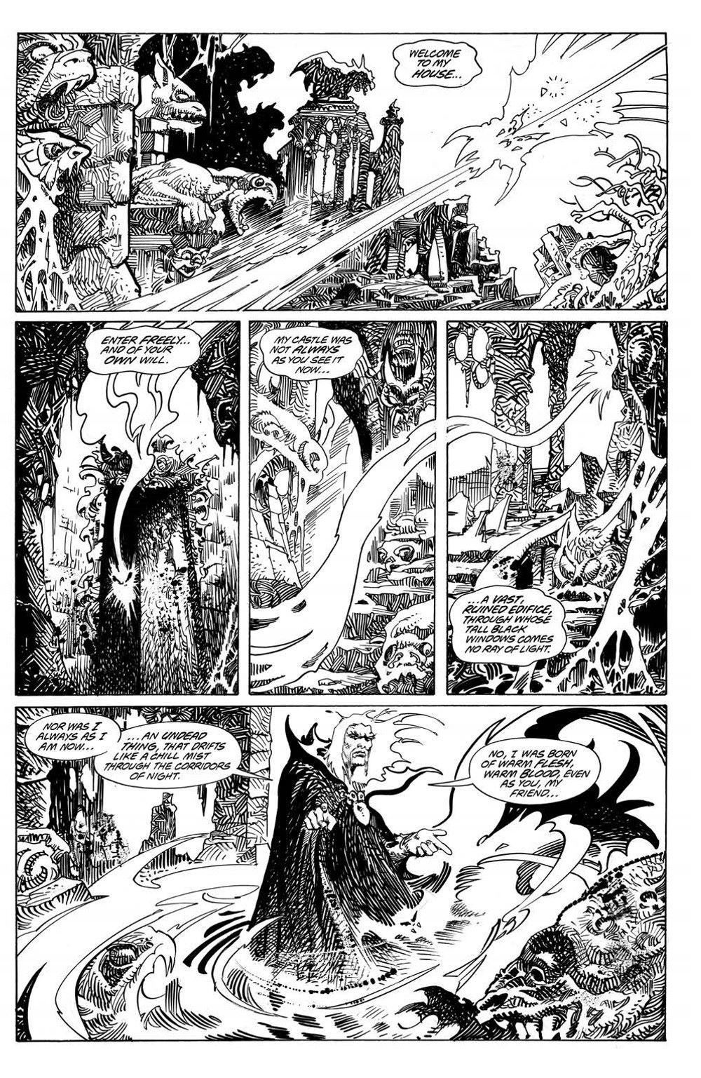 VladTheImpaler_TPB_pr-4 ComicList Previews: DRACULA VLAD THE IMPALER GN
