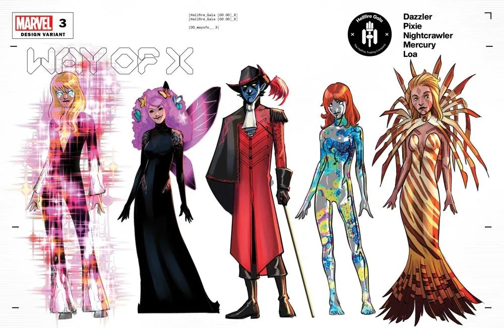 WAYOFX2021003_Design_variant Mutant fashion will be found on the Hellfire Gala Design Covers