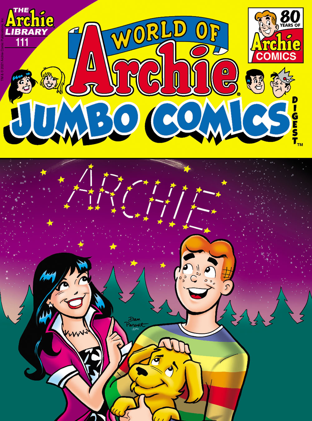 WOArchieJumbo111 Archie Comic Publications July 2021 Solicitations