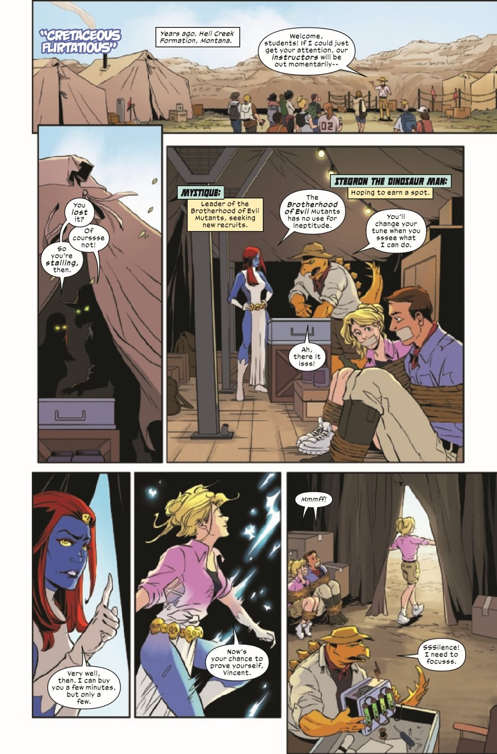 WOM2021001_Preview-3 ComicList Previews: WOMEN OF MARVEL #1