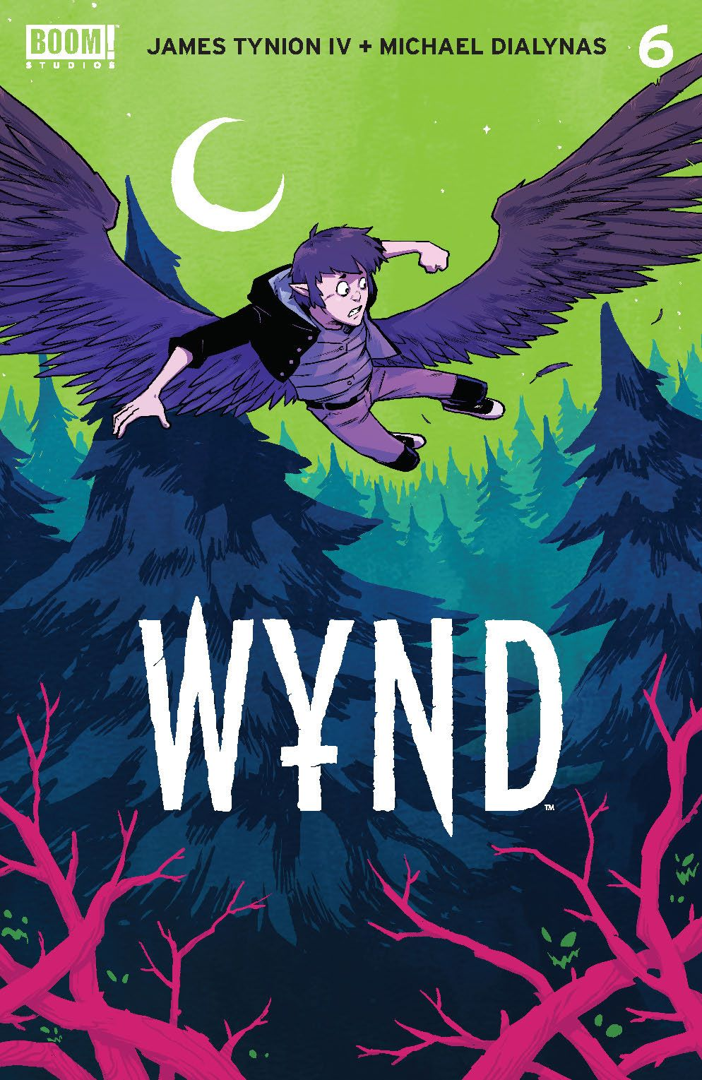Wynd_006_Cover_A_Main ComicList Previews: WYND #6 (OF 5)
