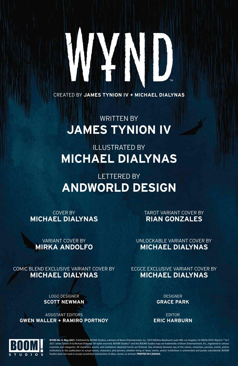 Wynd_006_PRESS_2 ComicList Previews: WYND #6 (OF 5)