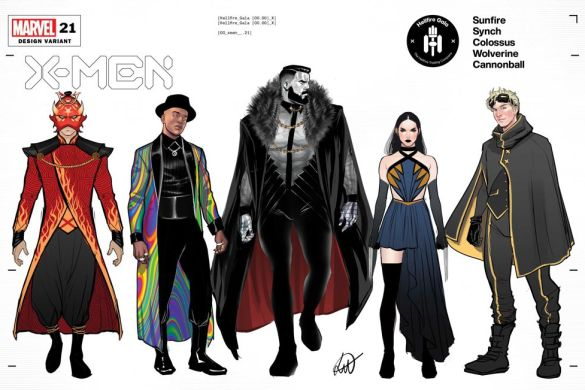XMEN2019021_Design_variant Mutant fashion will be found on the Hellfire Gala Design Covers