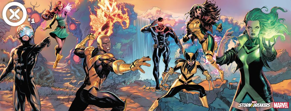 XMEN2021001_Stormbreakers_connected The Reign Of X leads to a new X-MEN team and series