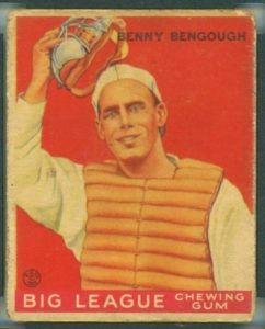 bennie-e1618577684844-242x300 Sports Card Collecting 101 Class #6: 1933 Goudey
