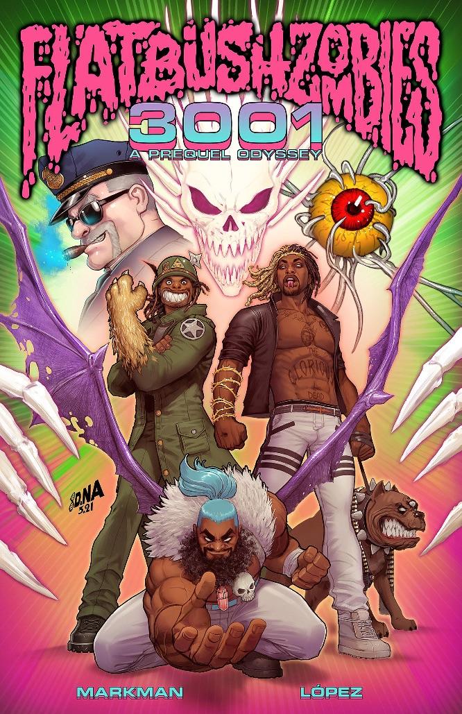 d6399f61-6014-450b-ab17-7bddbee5fe0d Z2 Comics and the Flatbush Zombies unite for 3001: A PREQUEL ODYSSEY