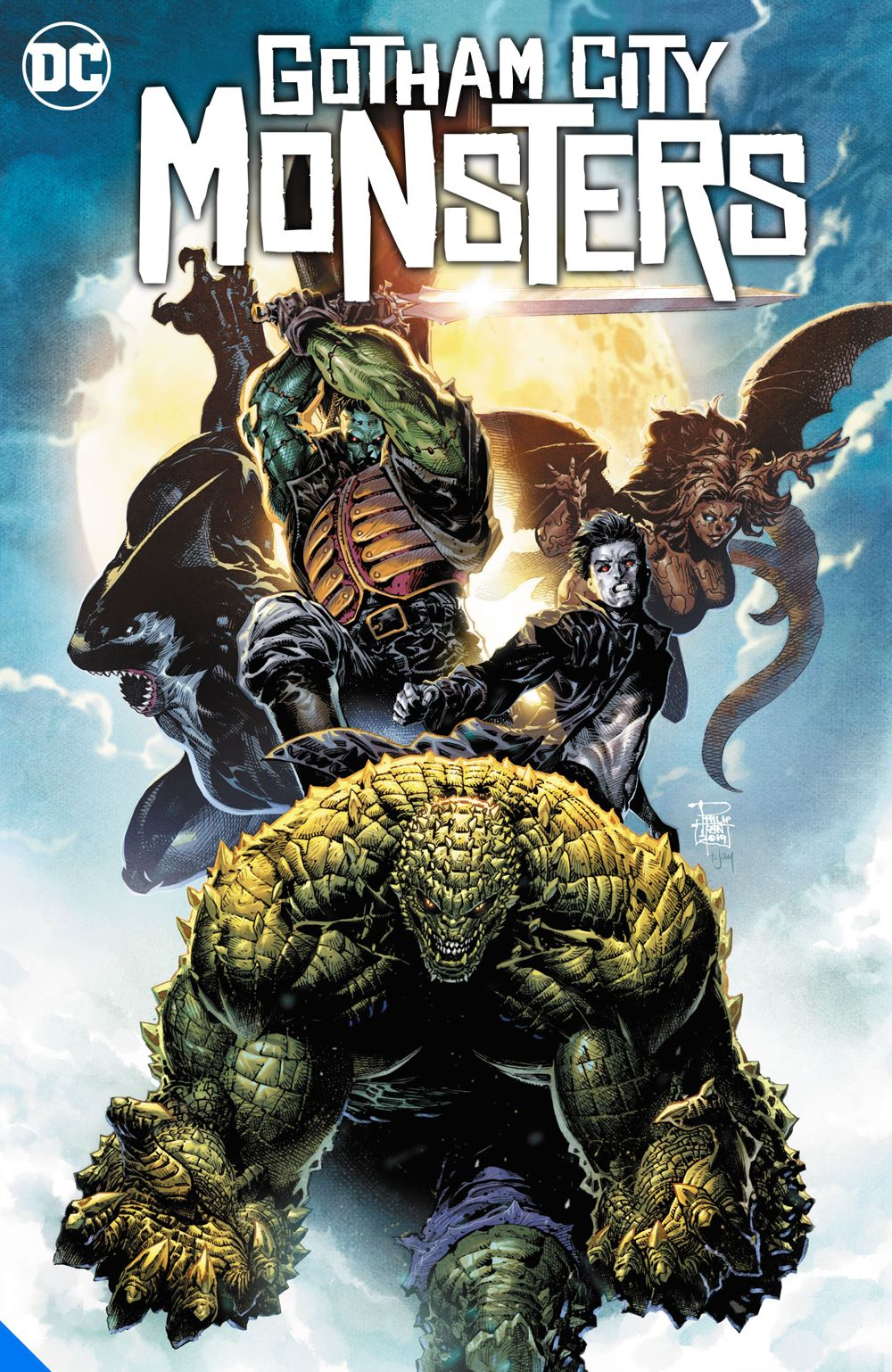 gothamcitymonsters_adv DC Comics July 2021 Solicitations