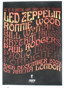 life-of-music-219x300 The Posters of Led Zeppelin Reunions