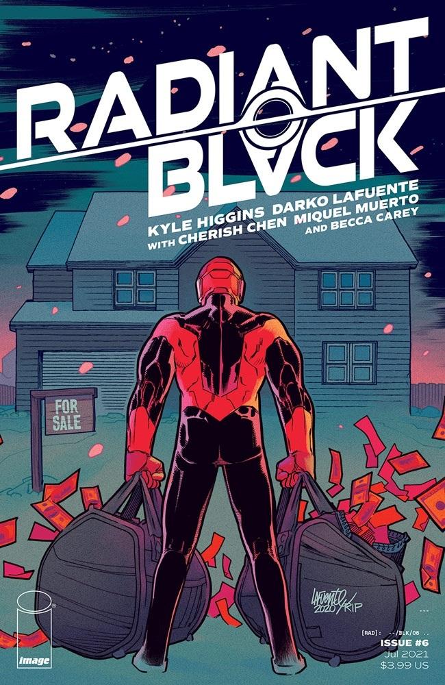 radiantblack_06a Image Comics July 2021 Solicitations
