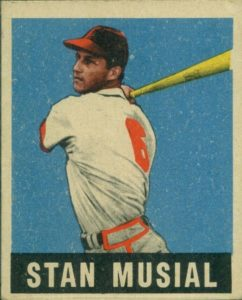 stan-musial-e1619804514299-242x300 Sports Card Collecting 101: 1948-49 Leaf Baseball Is A No-Brainer!