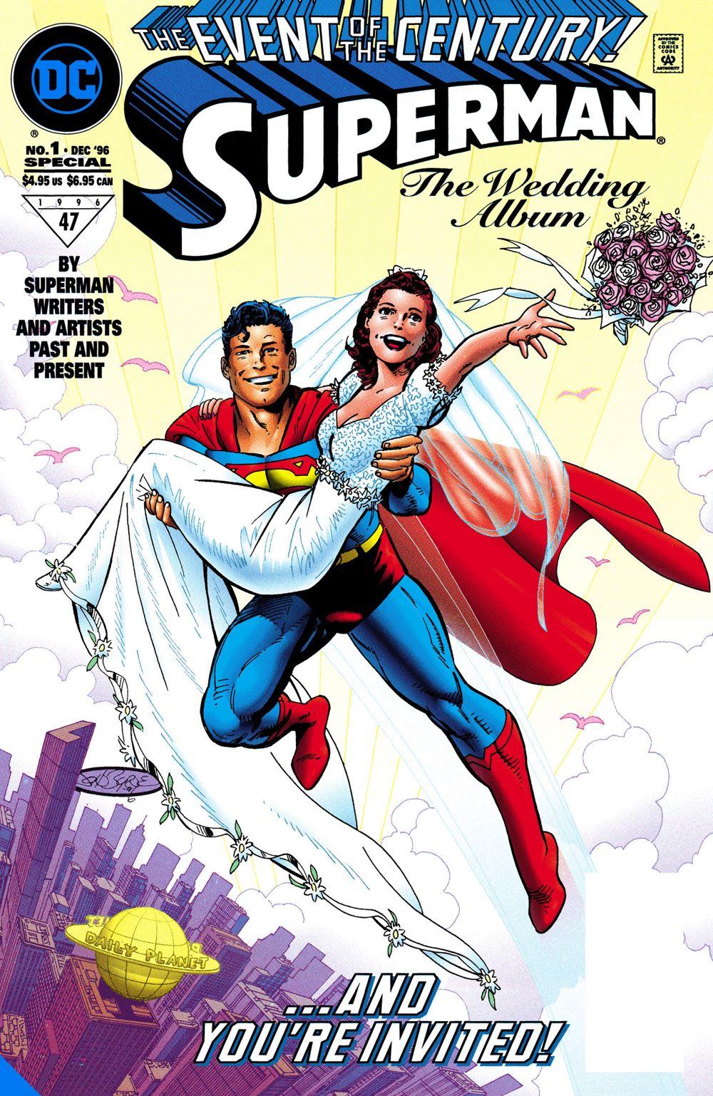 supermanloislane25thweddinganniv-dlx_adv DC Comics July 2021 Solicitations