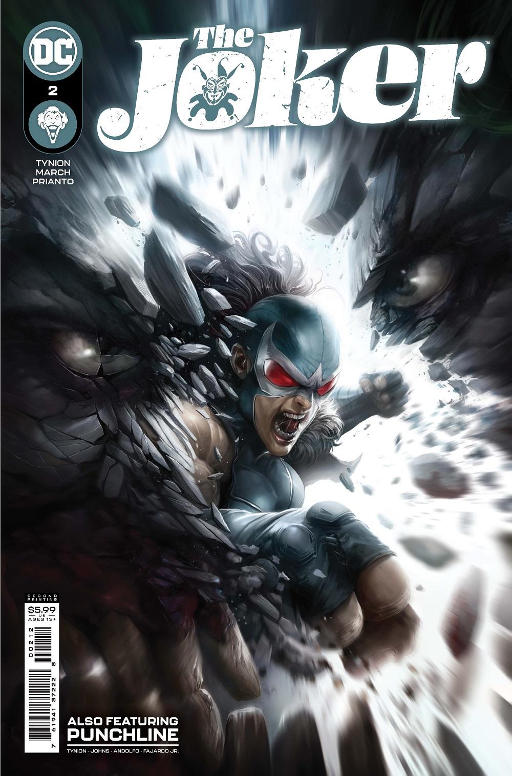 0221DC844 ComicList: DC Comics New Releases for 05/19/2021