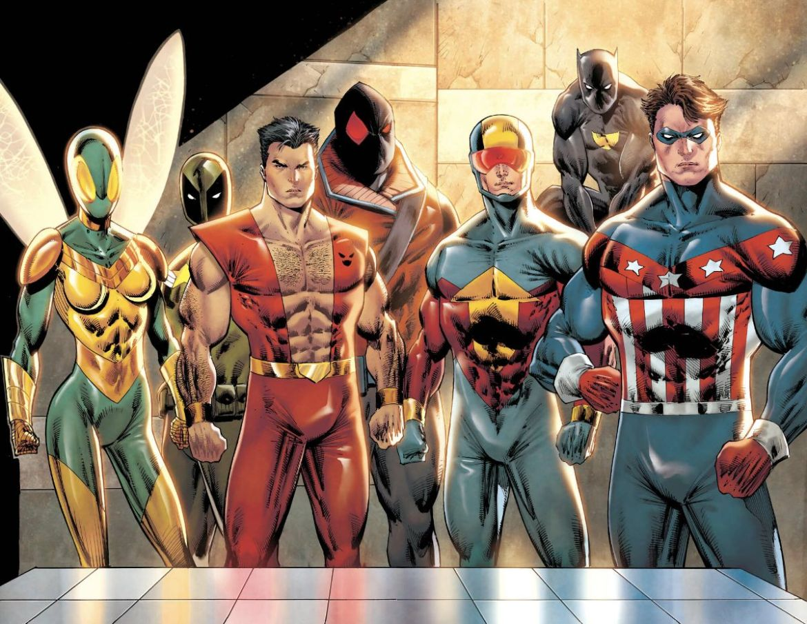 6f7fe0de-8bc7-6974-676d-61d244b05b1f Writer David Gallaher to script THE MIGHTY CRUSADERS: THE SHIELD
