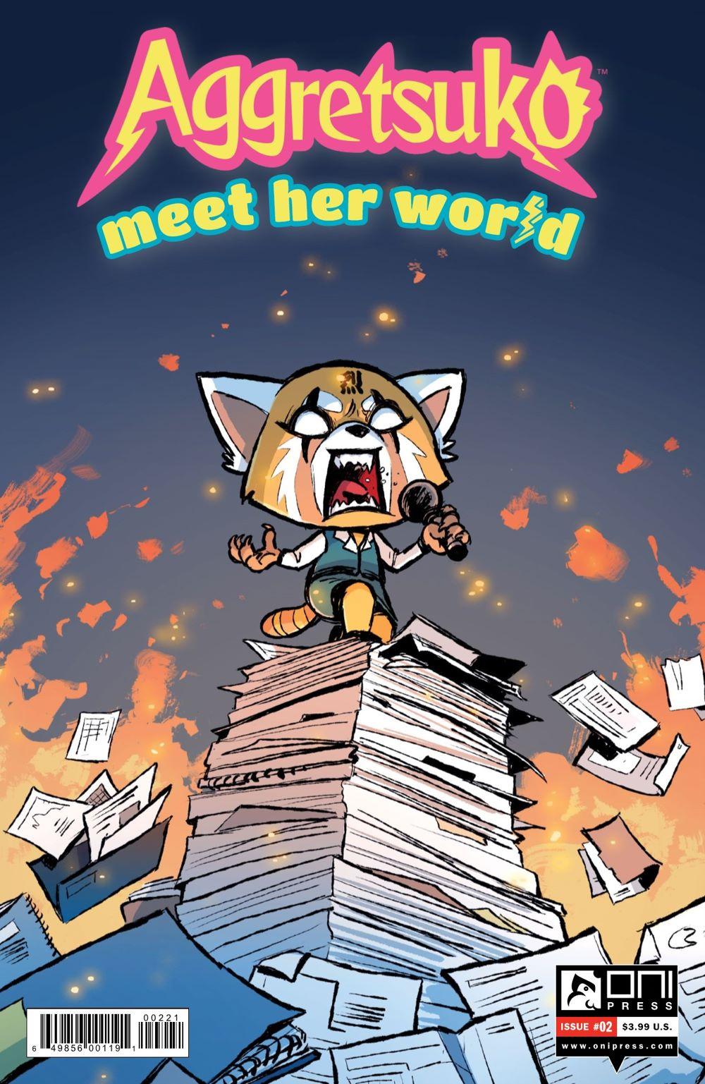 AGGRETSUKO-MHW-2-MARKETING-02-1 ComicList Previews: AGGRETSUKO MEET HER WORLD #2