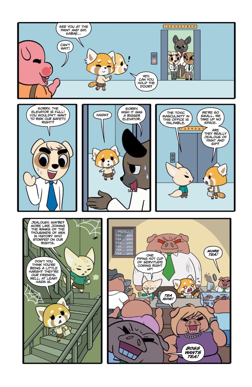 AGGRETSUKO-MHW-2-MARKETING-08-1 ComicList Previews: AGGRETSUKO MEET HER WORLD #2