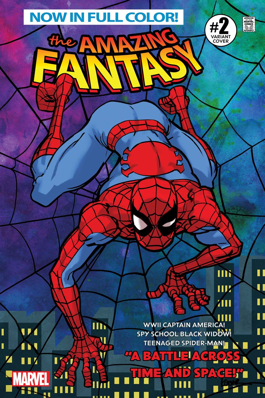 AMFAN002_Spider_Var Marvel Comics August 2021 Solicitations