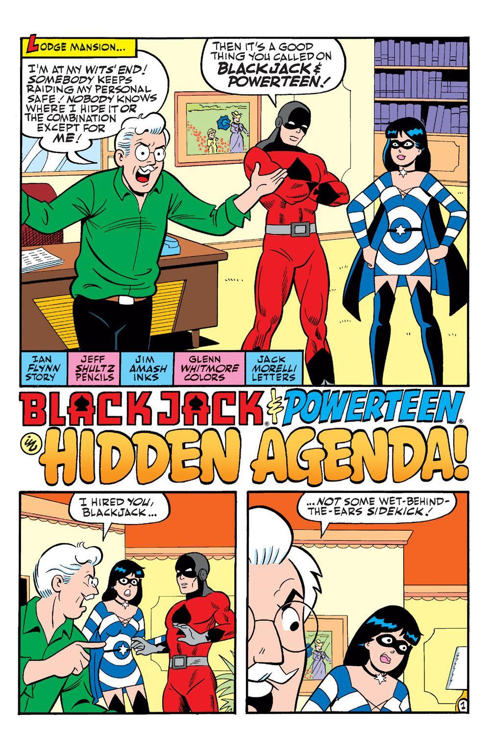 ArchieAndFriends_Superheroes-13 ComicList Previews: ARCHIE AND FRIENDS SUPERHEROES #1