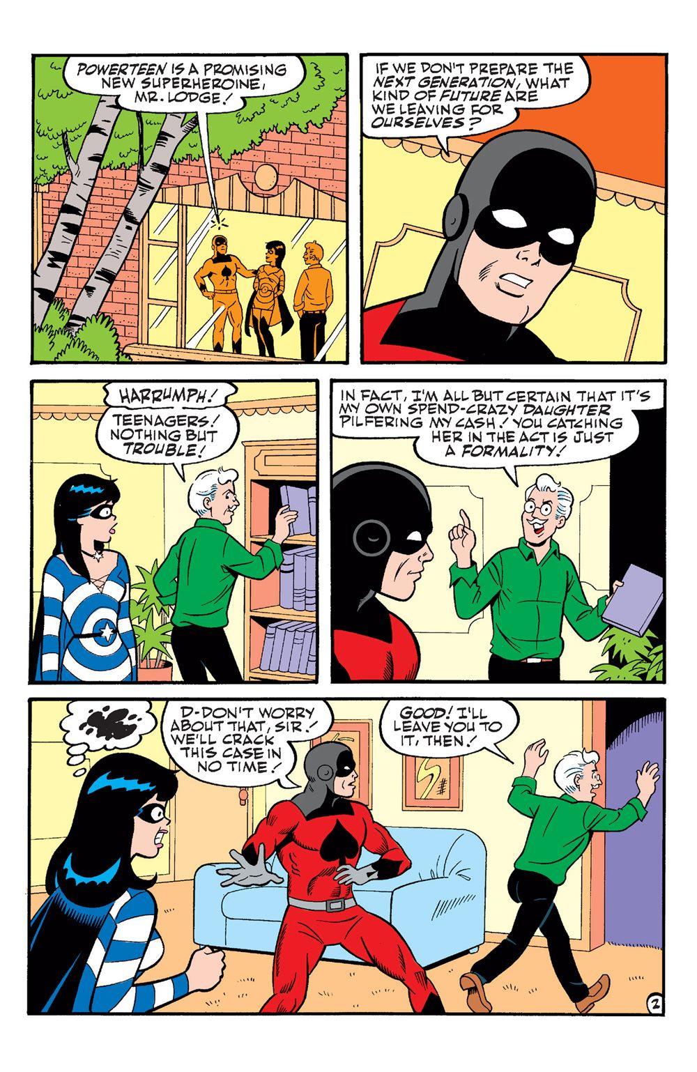 ArchieAndFriends_Superheroes-14 ComicList Previews: ARCHIE AND FRIENDS SUPERHEROES #1