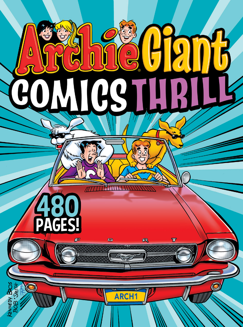 ArchieGiantComicsThrill_Cover_Kennedy ComicList Previews: ARCHIE GIANT COMICS THRILL TP