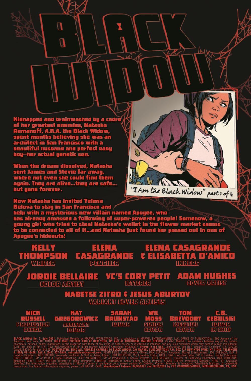 BLAW2020007_Preview-2 ComicList Previews: BLACK WIDOW #7