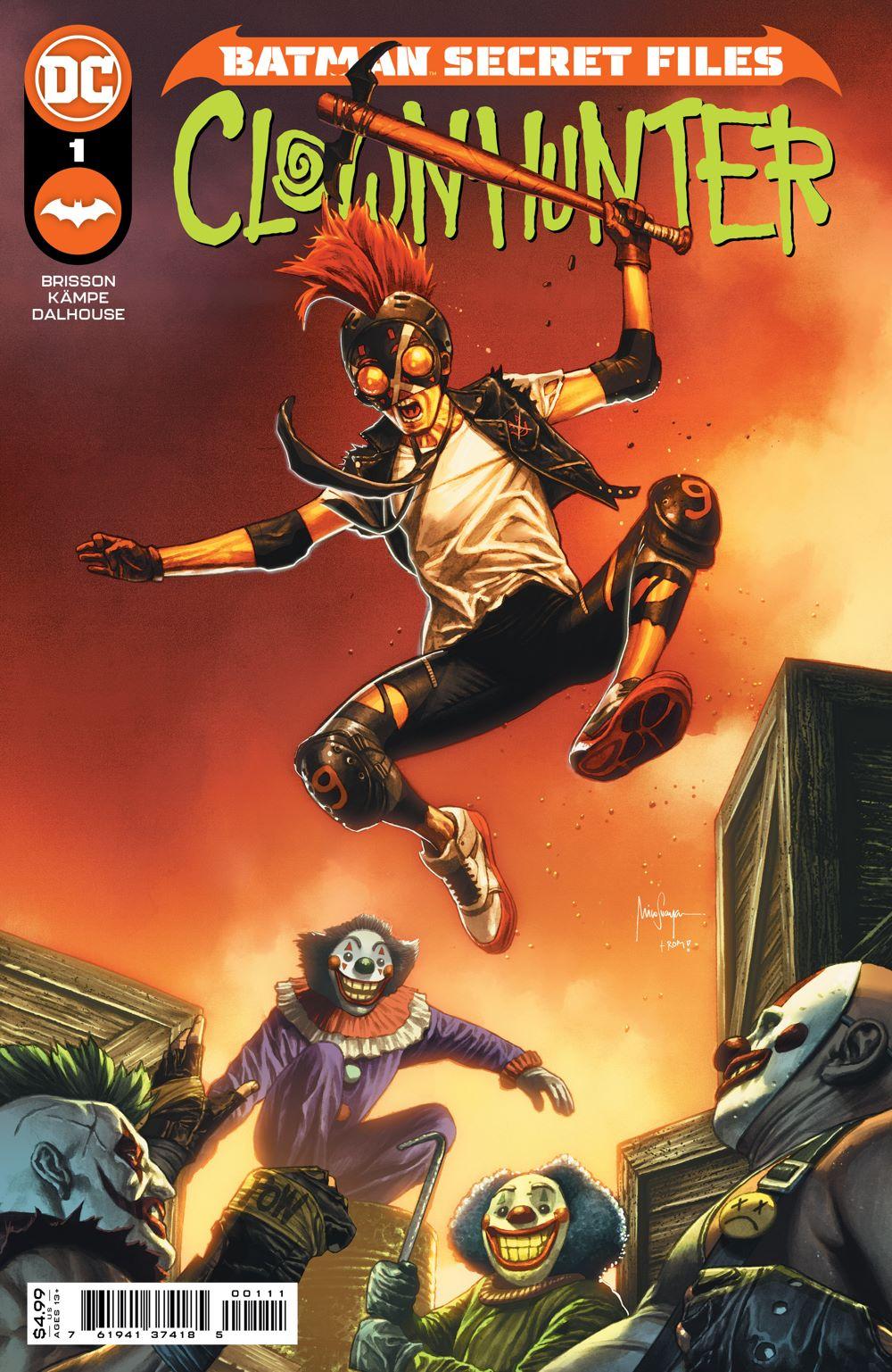 BMSF_CLWNHNTR_Cv1 DC Comics August 2021 Solicitations