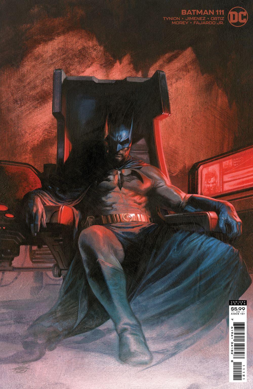 BM_Cv111_var DC Comics August 2021 Solicitations