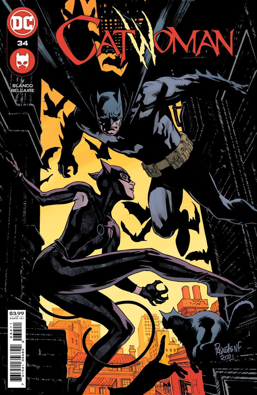 CATWOMAN_Cv34 DC Comics August 2021 Solicitations