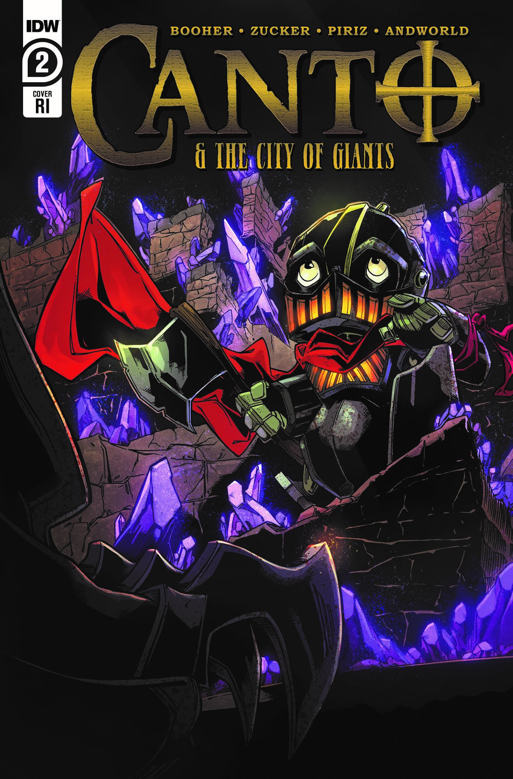 Canto-CoG02_cvrRI ComicList: IDW Publishing New Releases for 05/12/2021