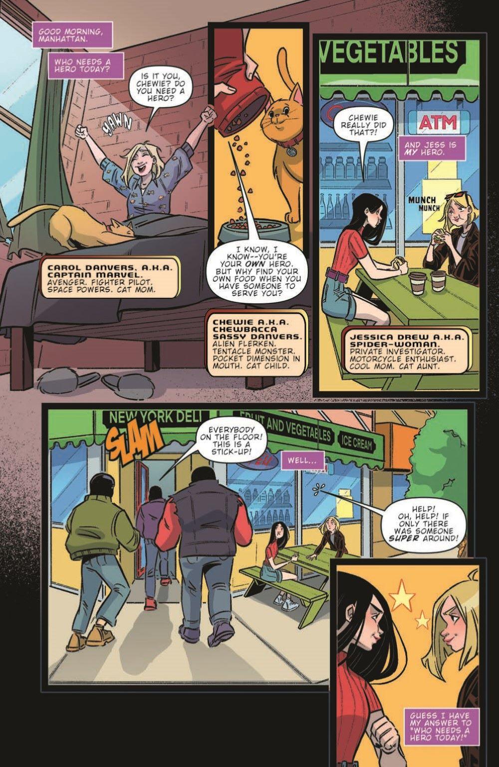 CaptainMarvel2_03_pr-3 ComicList Previews: MARVEL ACTION CAPTAIN MARVEL VOLUME 2 #3