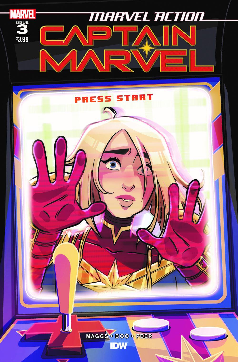 CaptainMarvel_Acvr_03 ComicList Previews: MARVEL ACTION CAPTAIN MARVEL VOLUME 2 #3