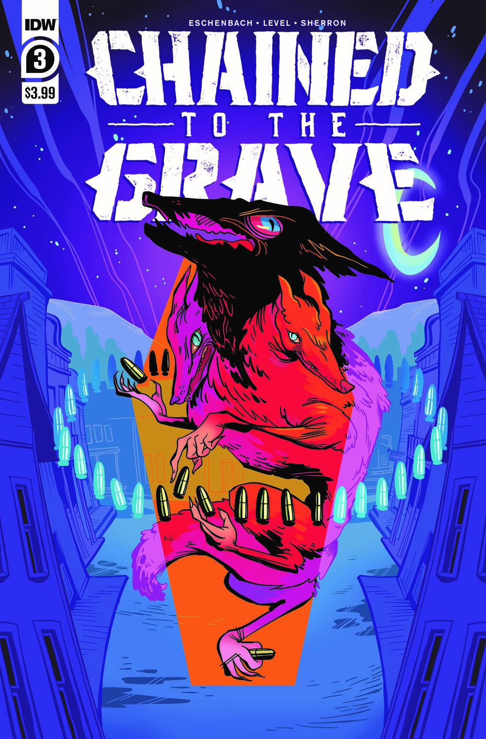 ChainedTTGrave03-cover ComicList Previews: CHAINED TO THE GRAVE #3 (OF 5)