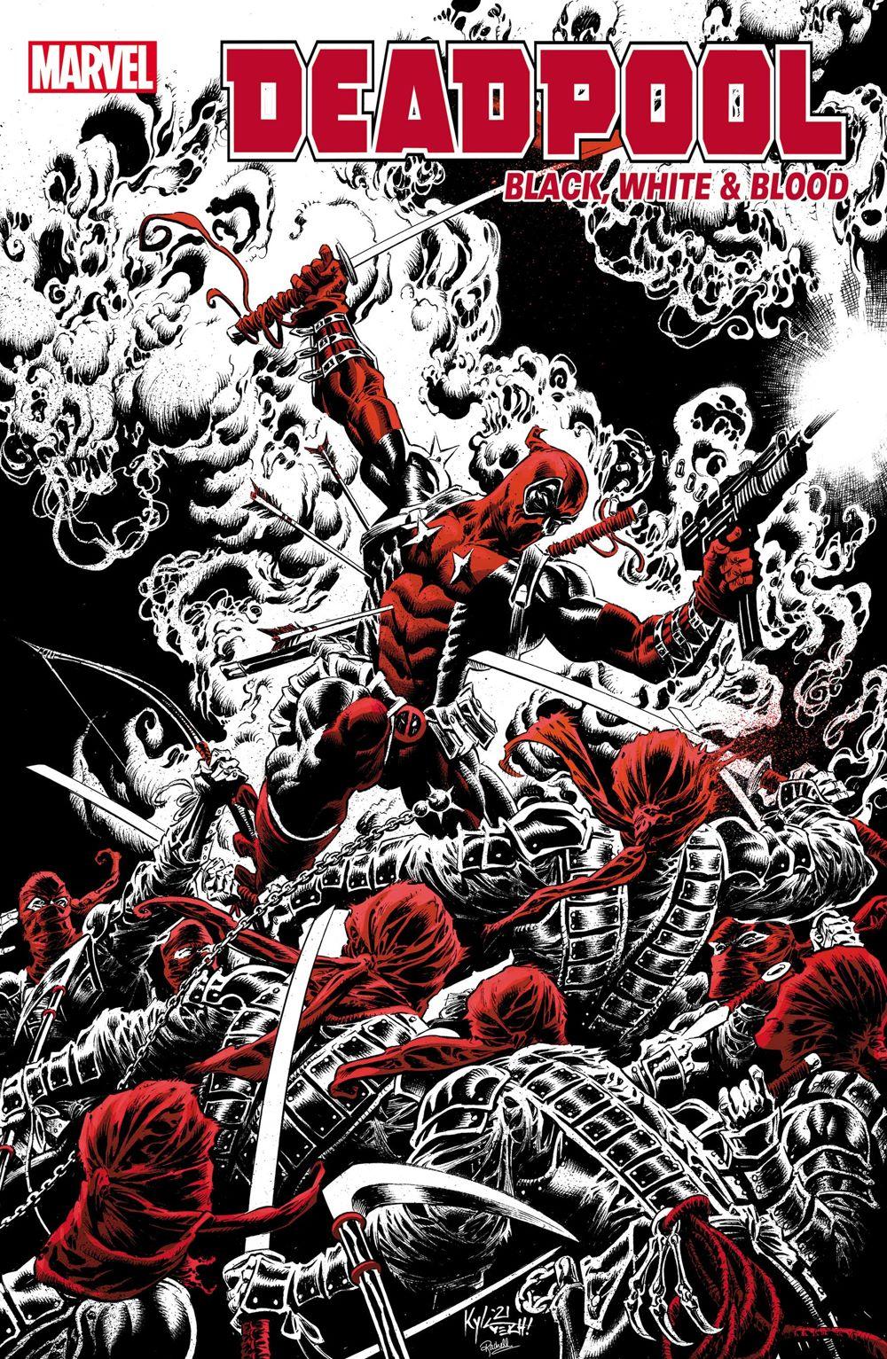 DPOOLBLKWHBL2021001_Hotz_Var Marvel Comics August 2021 Solicitations
