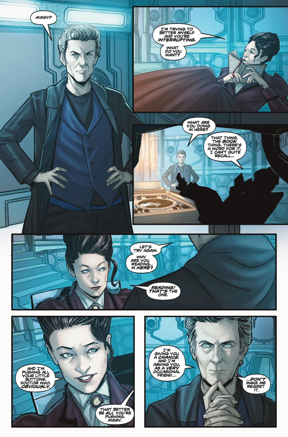 Doctor-Who-Missy-2-Interior_Page_1 ComicList Previews: DOCTOR WHO MISSY #2