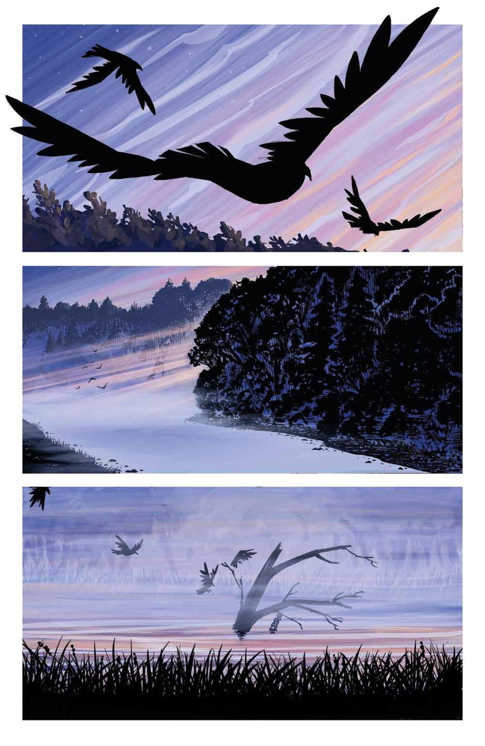 DownRiverPeople_SC_PRESS_10 ComicList Previews: THE DOWN RIVER PEOPLE GN