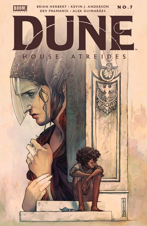 Dune_HouseAtreides_007_Cover_A_Main ComicList: BOOM! Studios New Releases for 05/26/2021